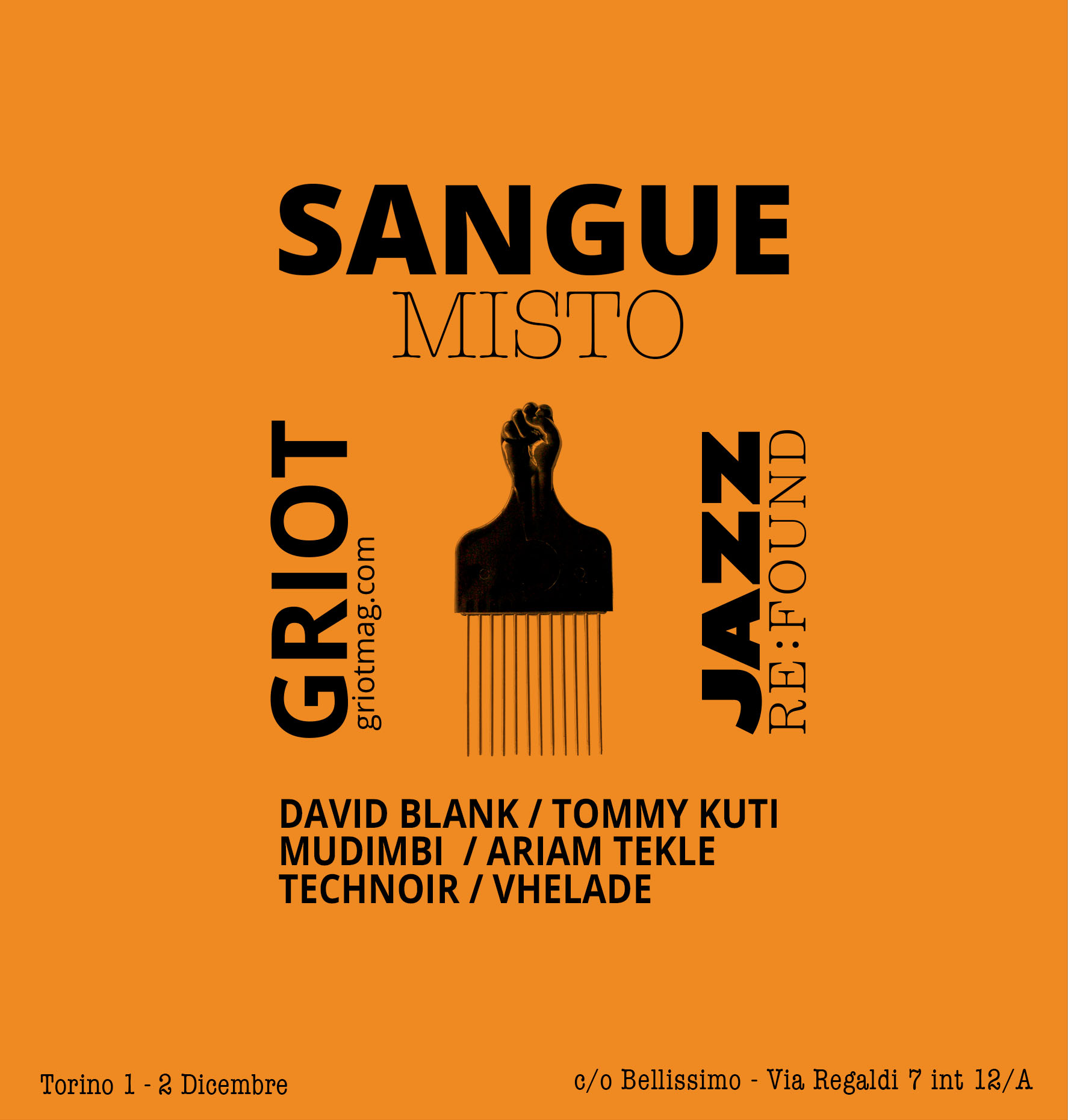 GRIOT MAG -sangue misto jazz re found