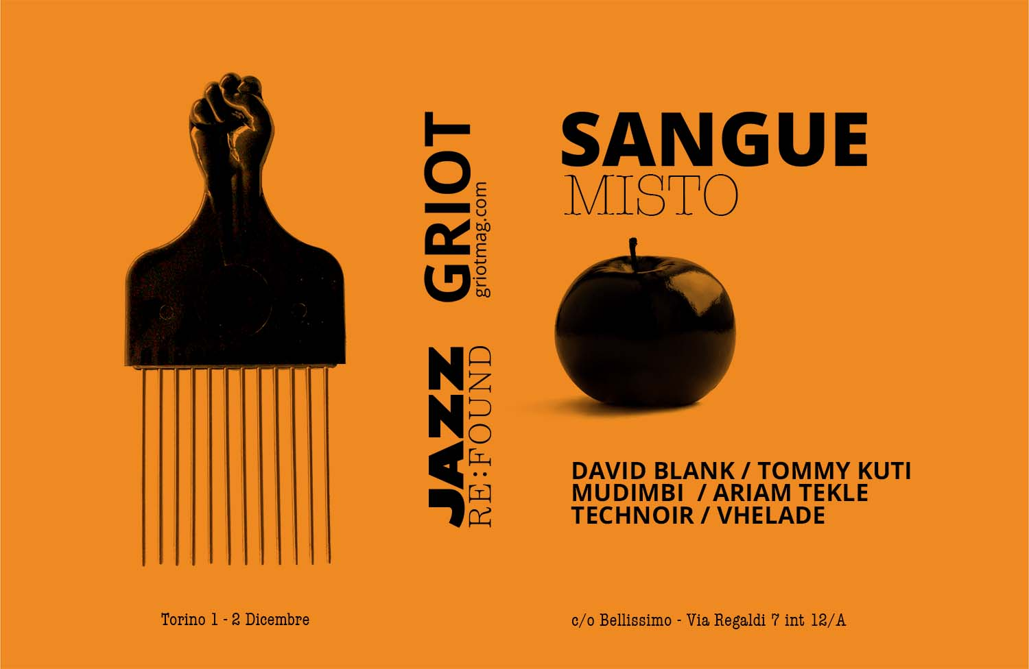 GRIOT MAG ----sangue misto jazz re found_no border